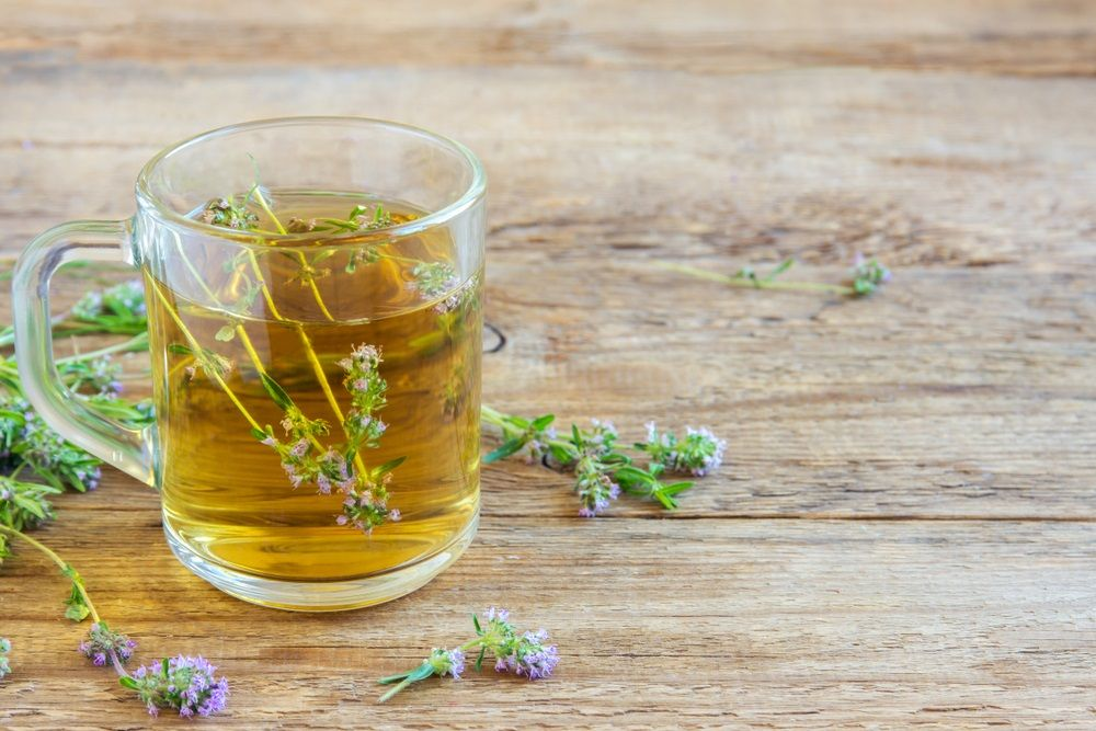 Thyme Drink - Home Remedy for Dry Cough