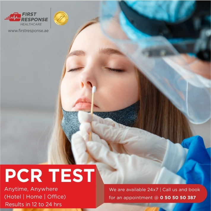 Planning to Travel anytime soon ? Now you can book immediately at your convenience 24/7 for a Priority COVID-19 PCR Test at Home or Hotel in Dubai with First Response Healthcare