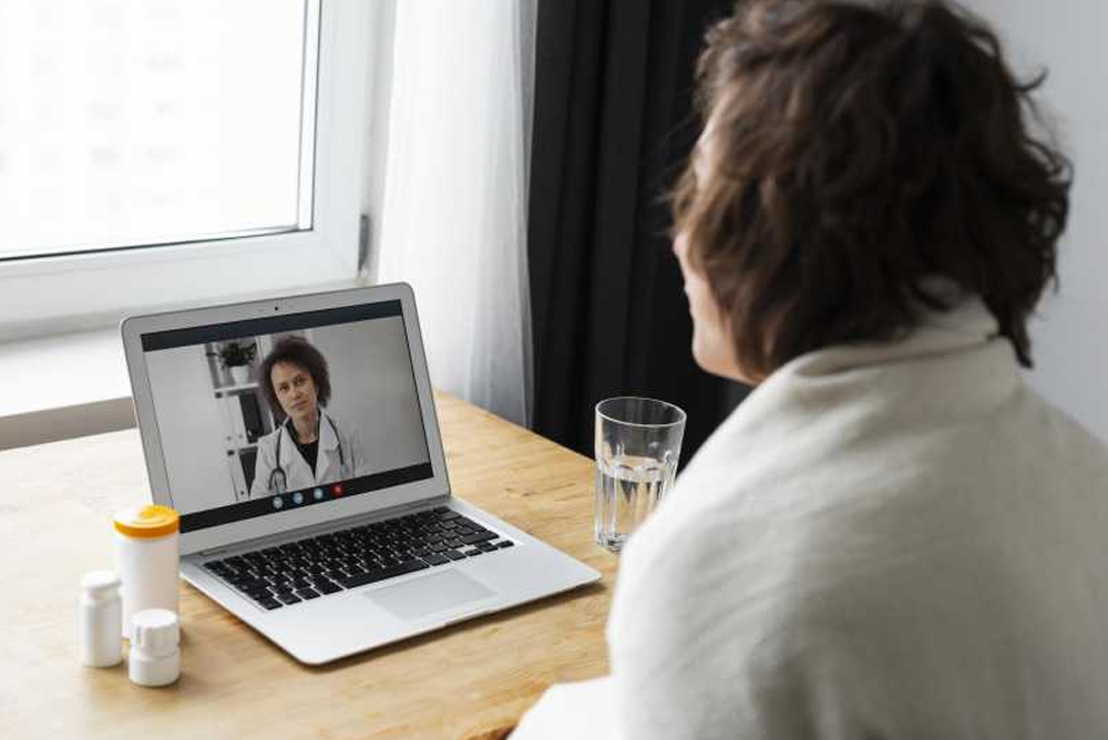 What is the effectiveness of video consultations in primary and specialist care during the COVID-19 Pandemic?